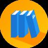 ikona-knjige-orange-shadow-100x100